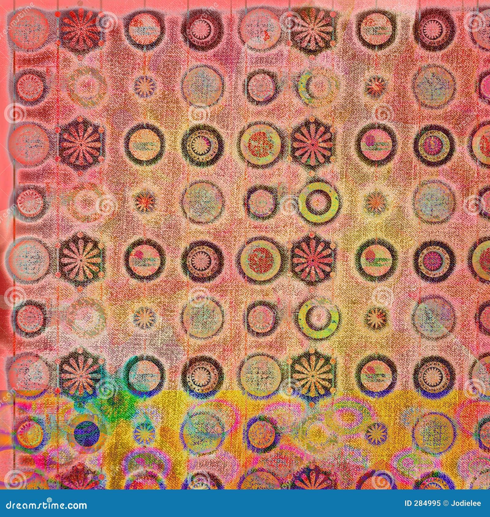 Batik för 4 bakgrund
