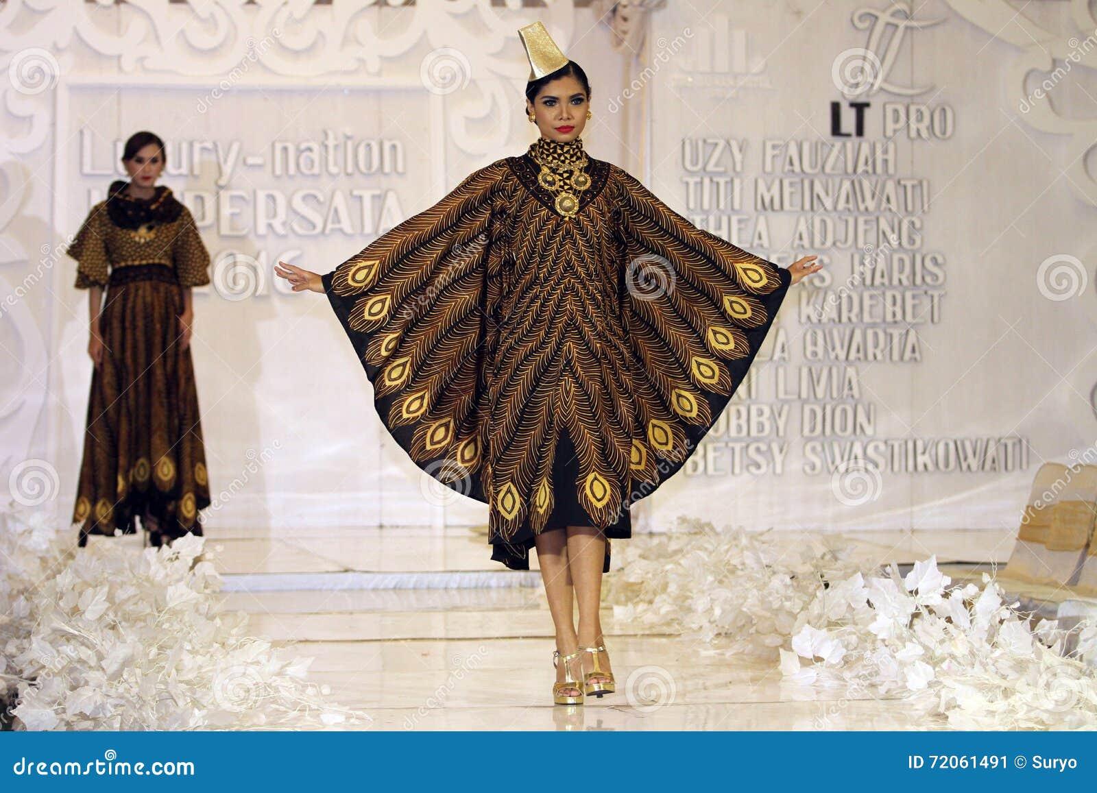 Batik Fashion Editorial Photo Image Of Fabric Java 72061491