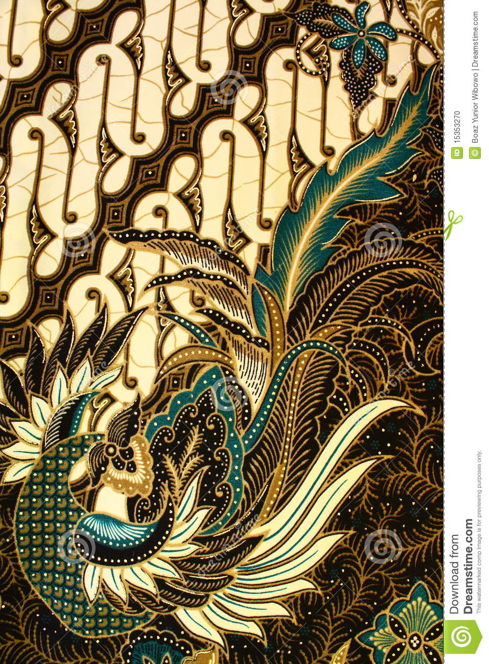 More similar stock images of ` Batik Pattern, Indonesia `