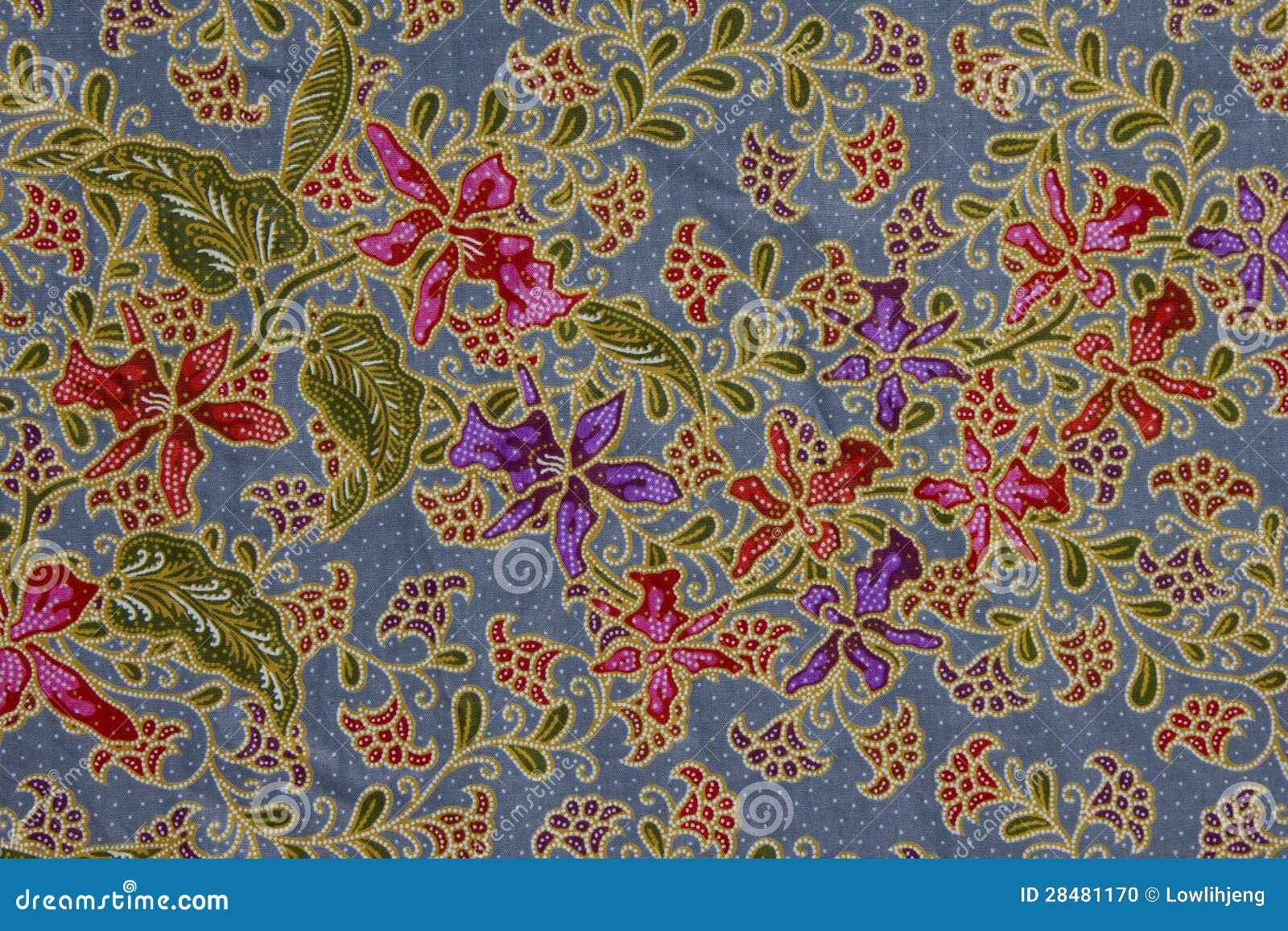 Batik pattern, Indonesia stock photo. Image of asian ...