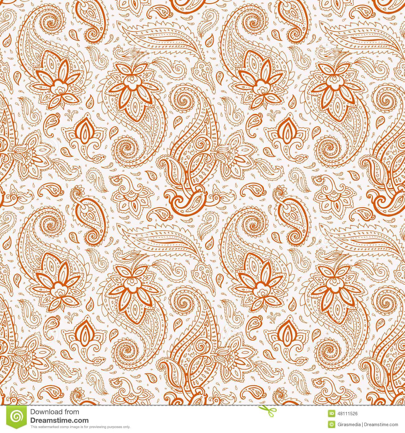 Batik Pattern From Indonesia Stock Photo