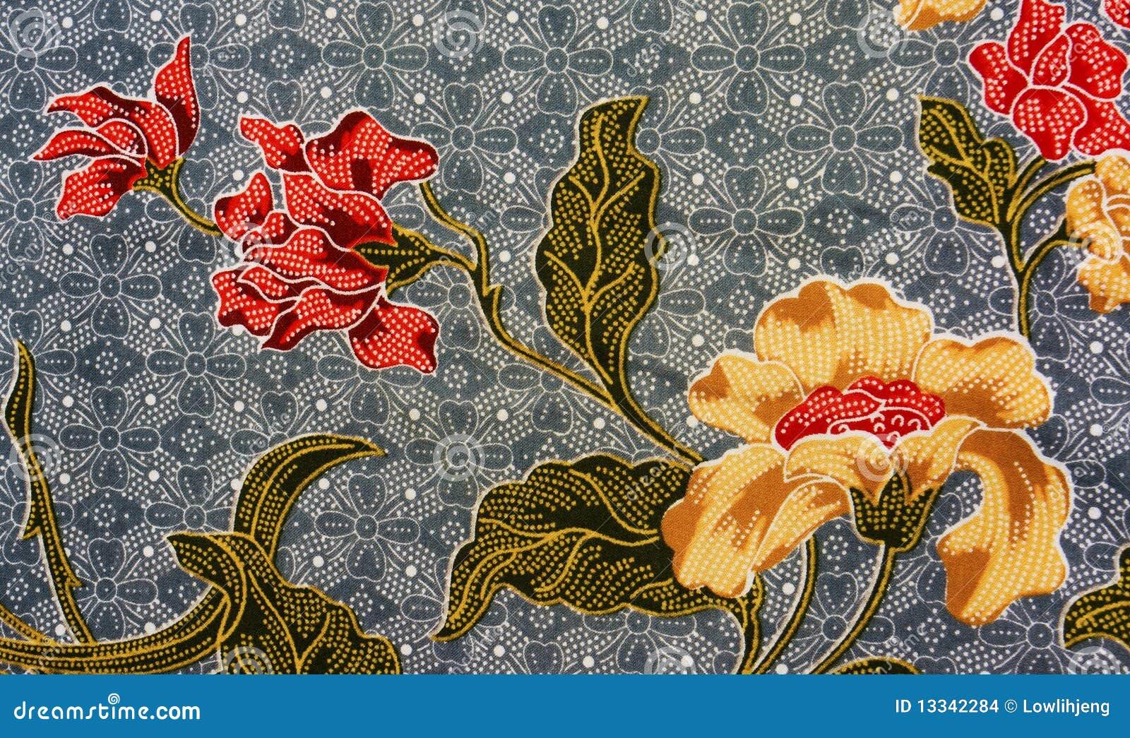 Batik Pattern, Malaysia Stock Images - Image: 13342284