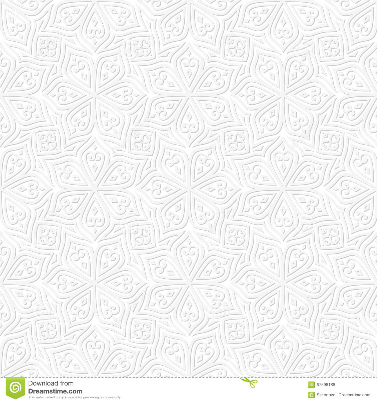 batik seamless pattern white background stock vector illustration of asian middle 67698188 dreamstime com