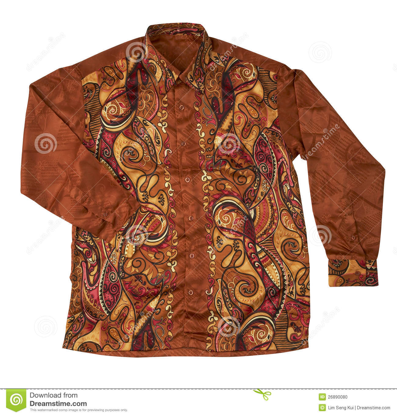 Batik Shirt Stock Photo. Image Of Colorful, Culture