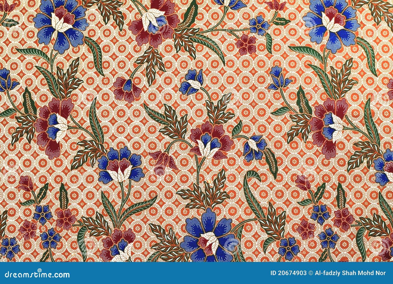 Batik Texture Made In Malaysia Stock Photos - Image: 20674903