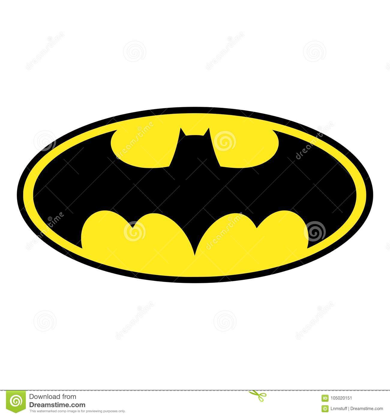 Download Batman Logo Isolated