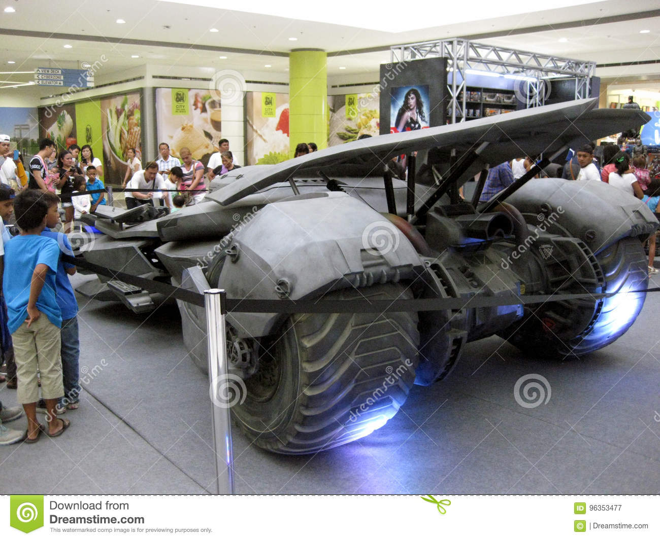 Awe Inspiring Batmobile Exhibit Sm City San Jose Del Monte Mall Bulacan Download Free Architecture Designs Scobabritishbridgeorg