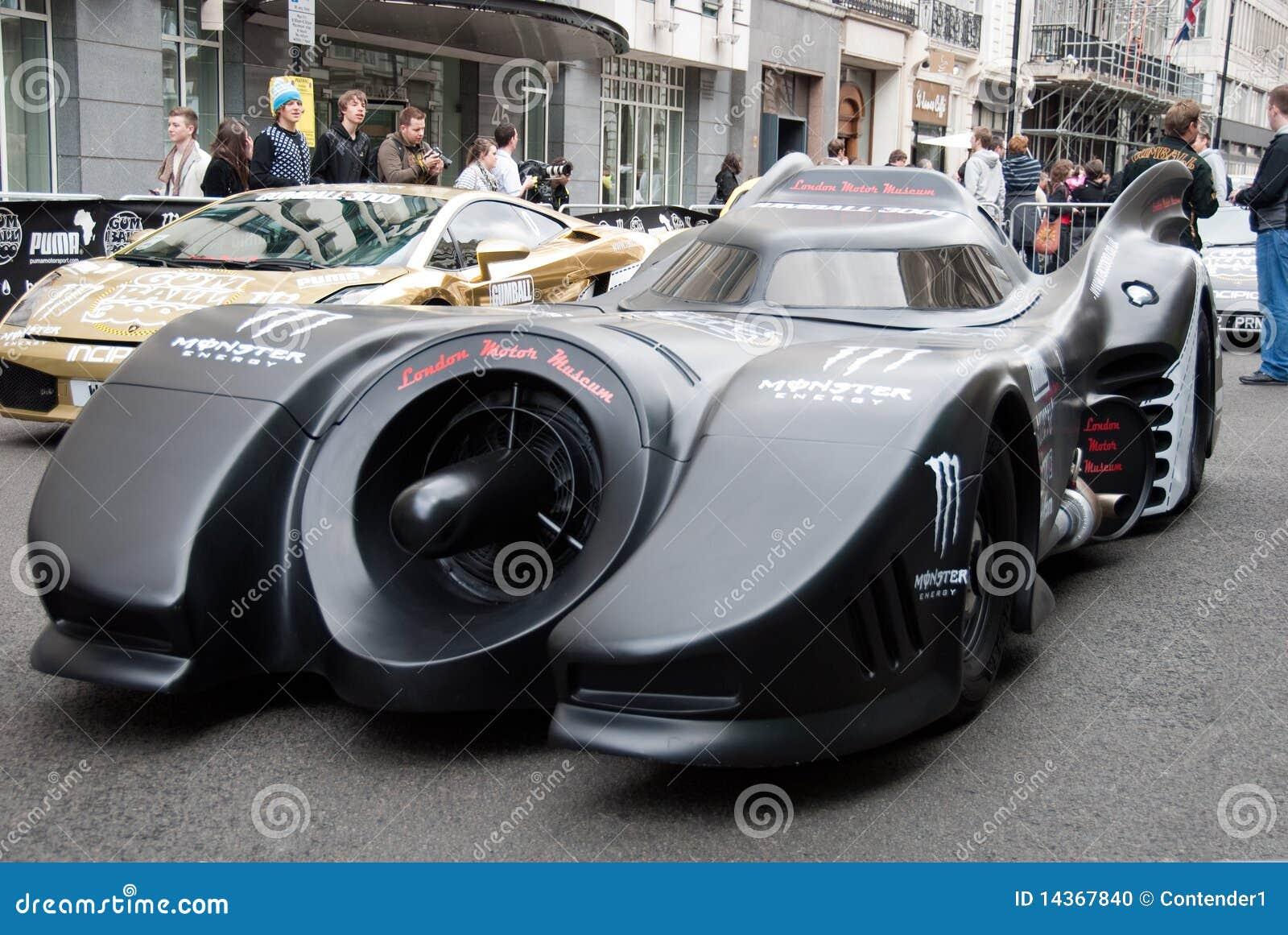 Batmobile novo Gumball 2010