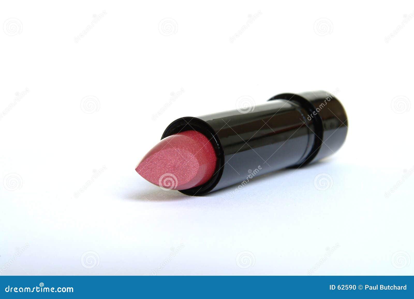 Batom lustroso cor-de-rosa