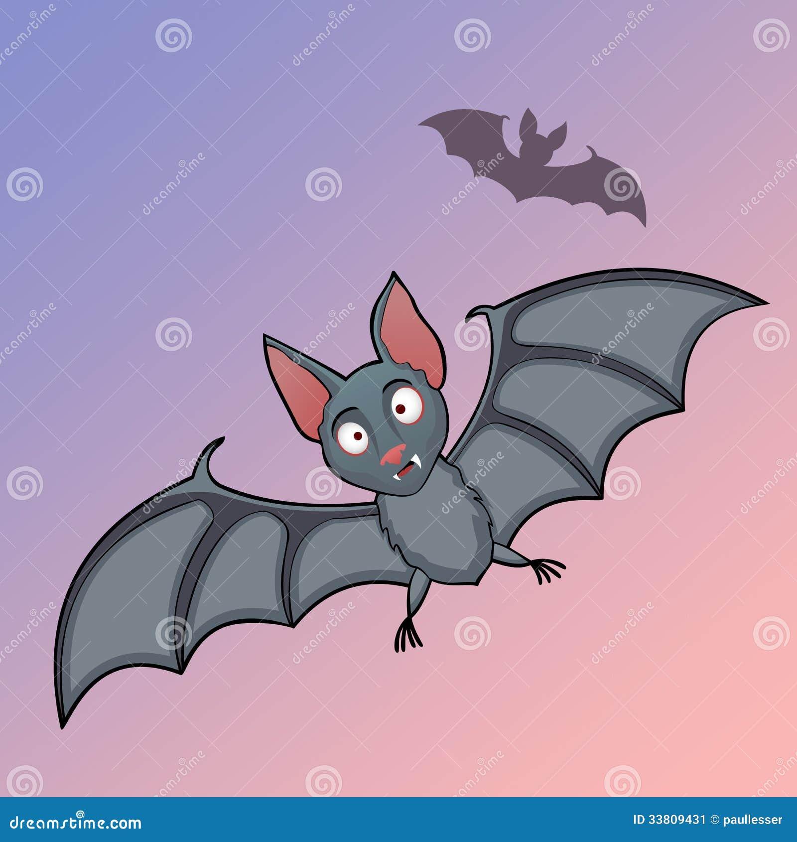 Cartoon Bats: Bats Cartoon In Fly Stock Vector. Illustration Of Animal