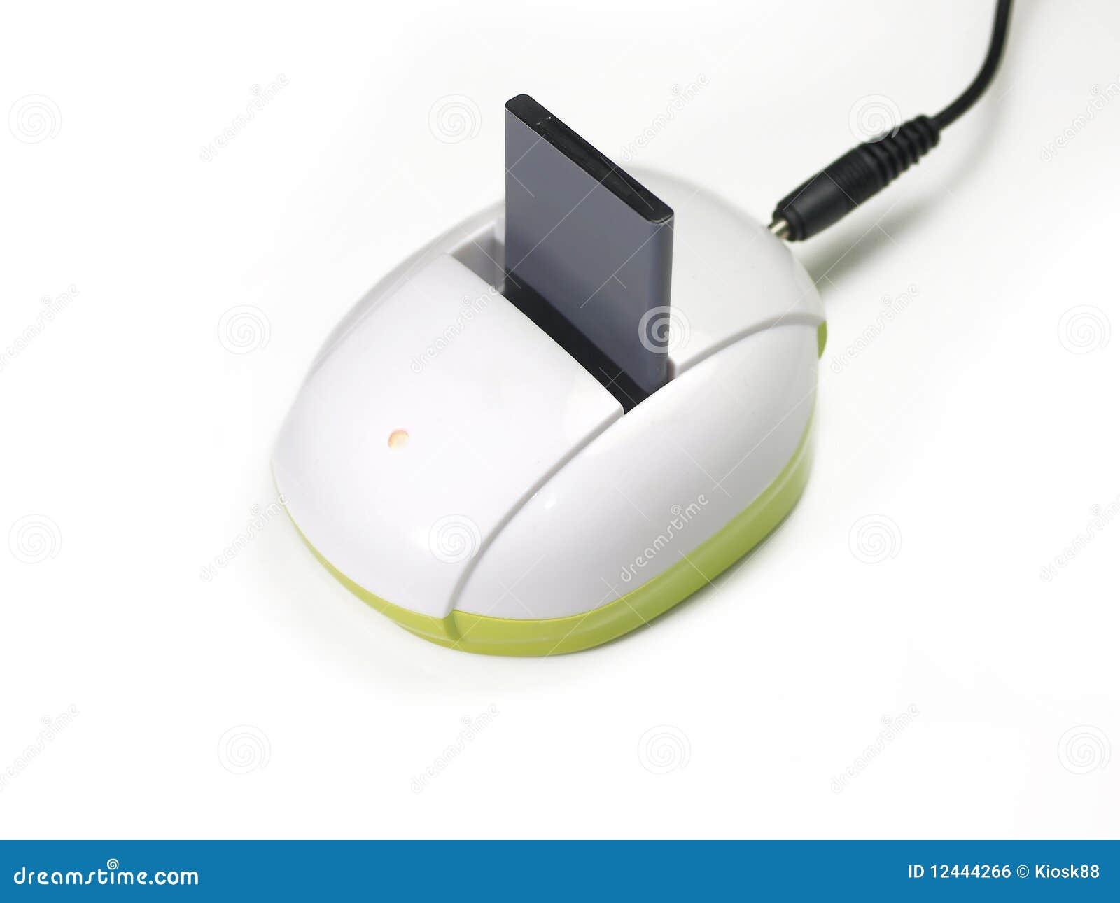 Batteria e caricatore del microtelefono