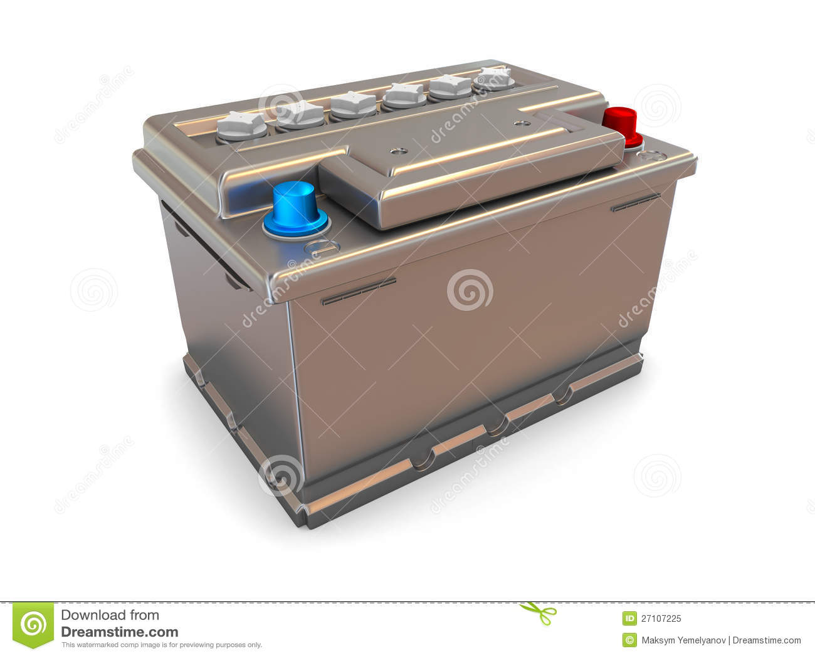 batterie de voiture 3d photo libre de droits image 27107225. Black Bedroom Furniture Sets. Home Design Ideas