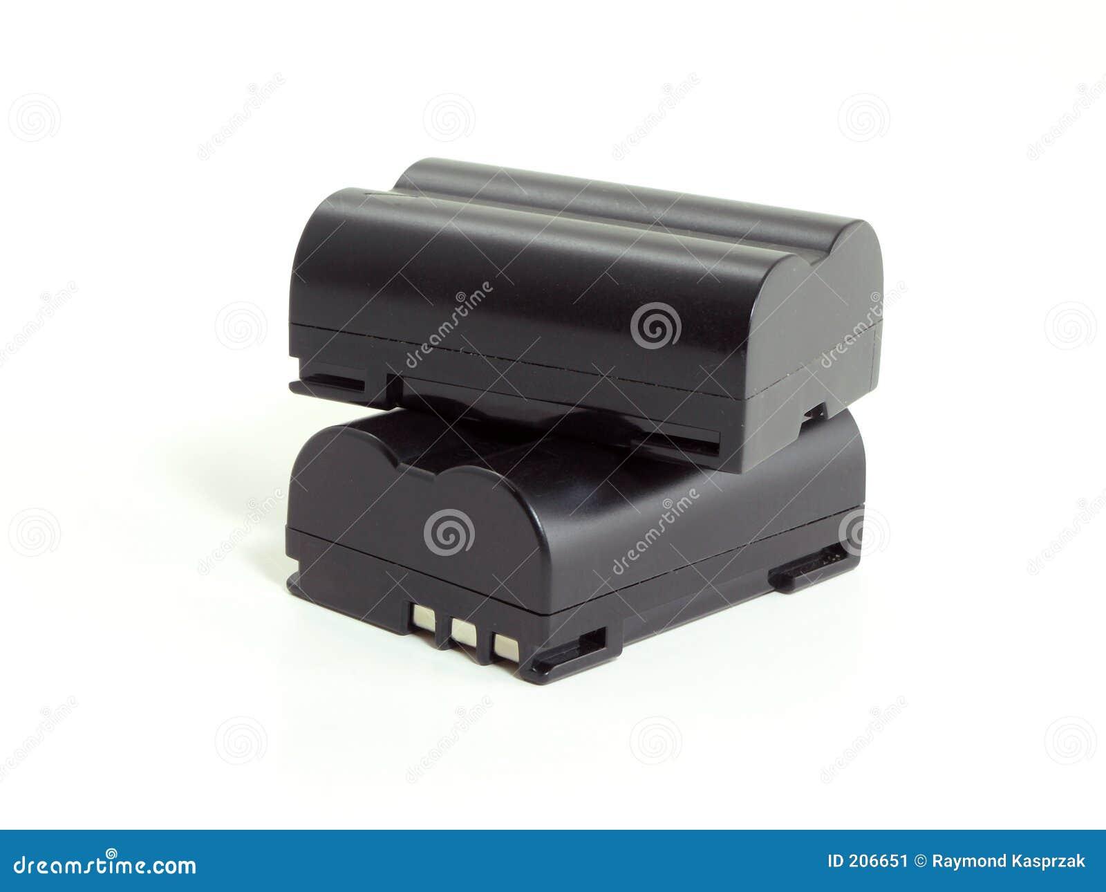 Batterie della macchina fotografica