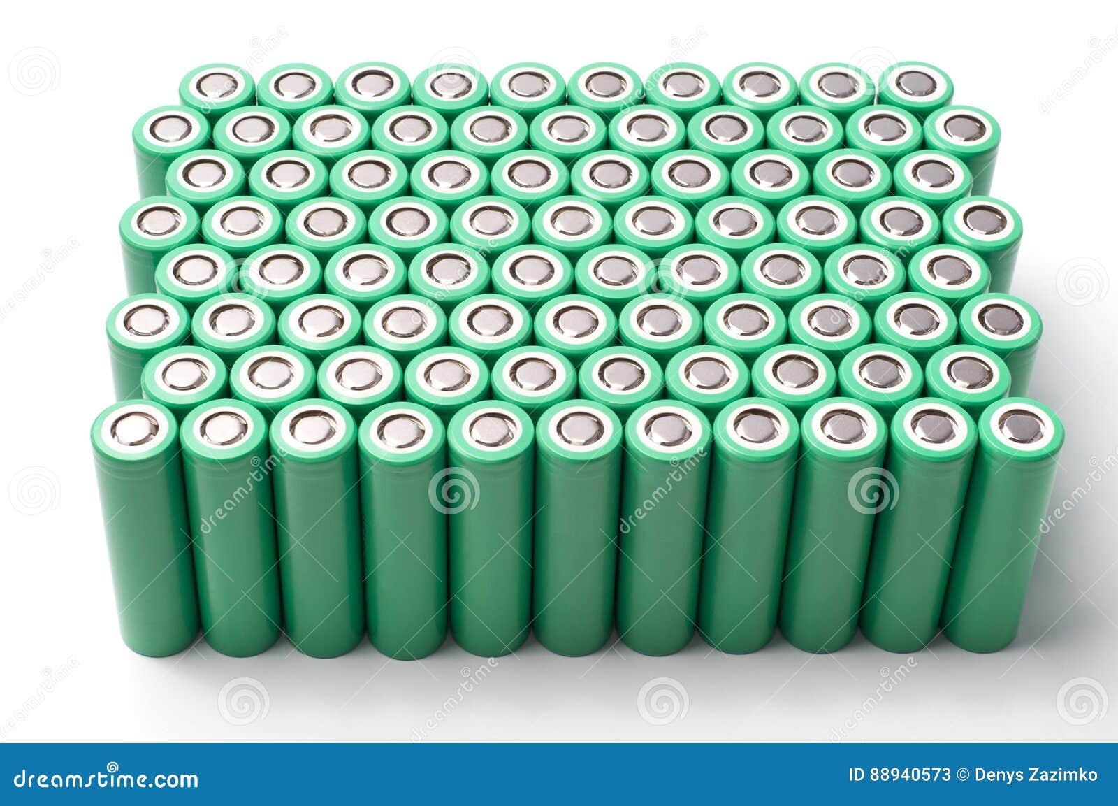 Batterier för litiumjon 18650