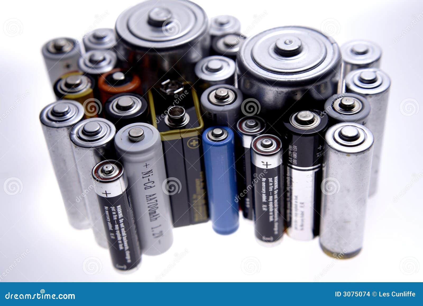 Tesla Solar Battery >> Batteries Stock Images - Image: 3075074