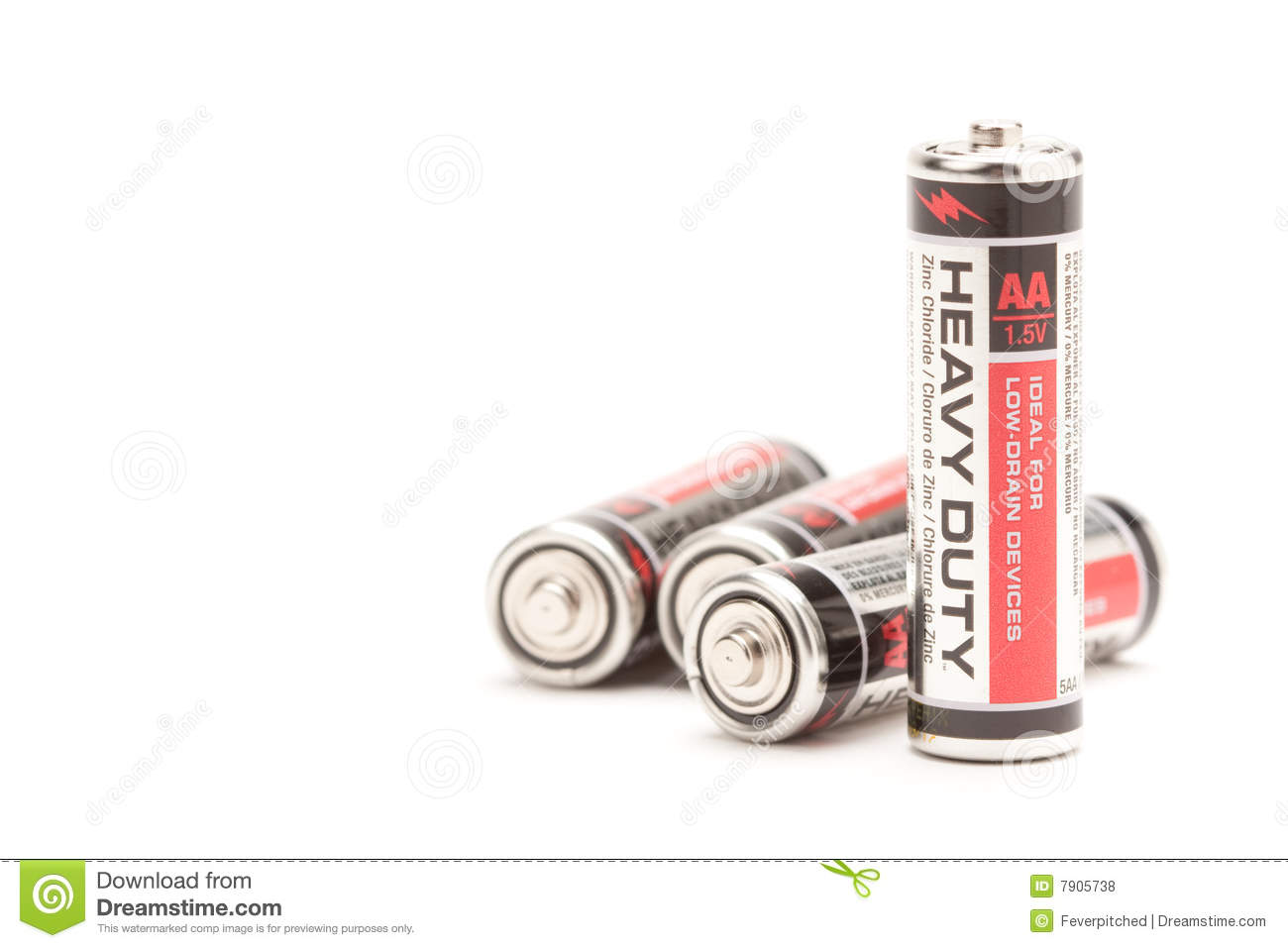 Batteries blanches