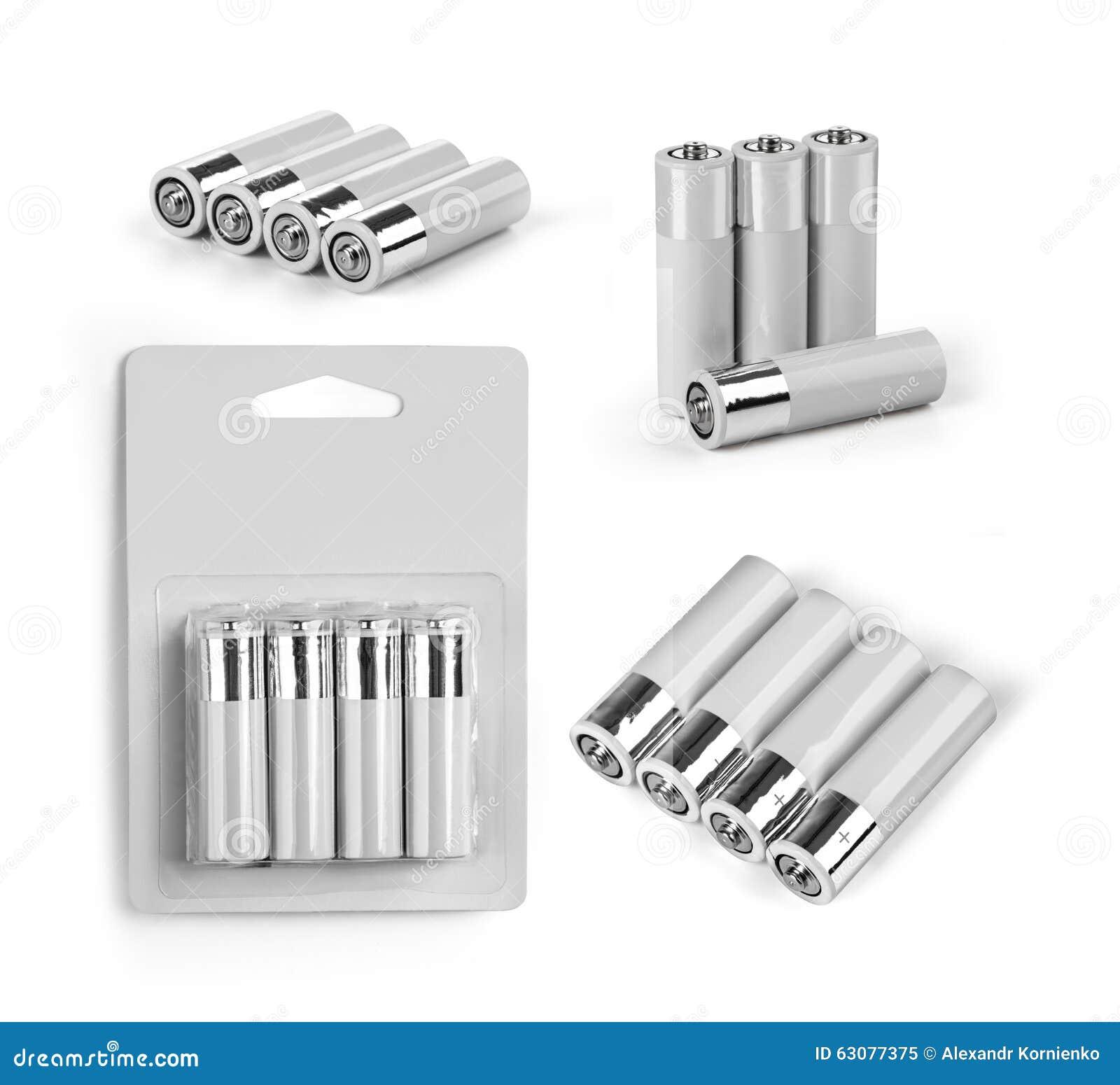 Download Batteries de taille d'aa image stock. Image du capacité - 63077375