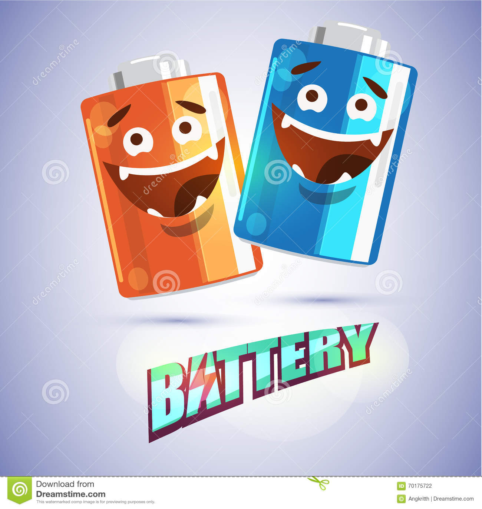 Batteritecken -