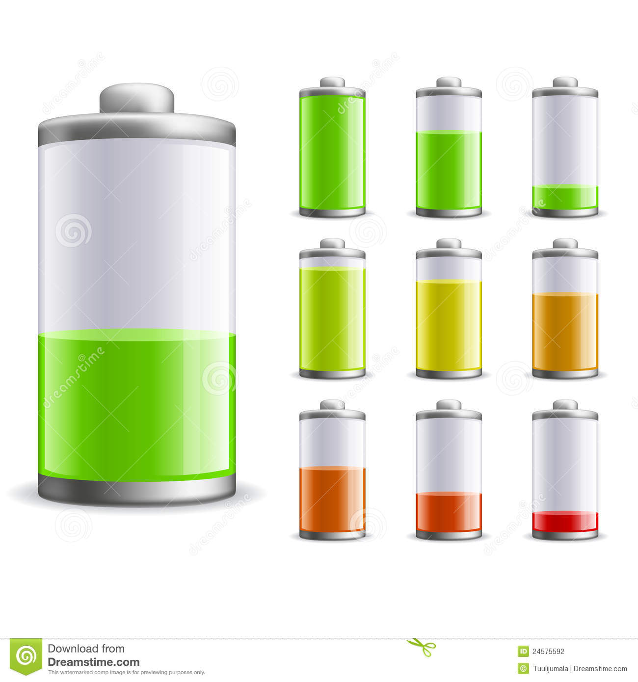 Windows 8 1 Set Battery Charge Level : Battery charge stock vector illustration of full