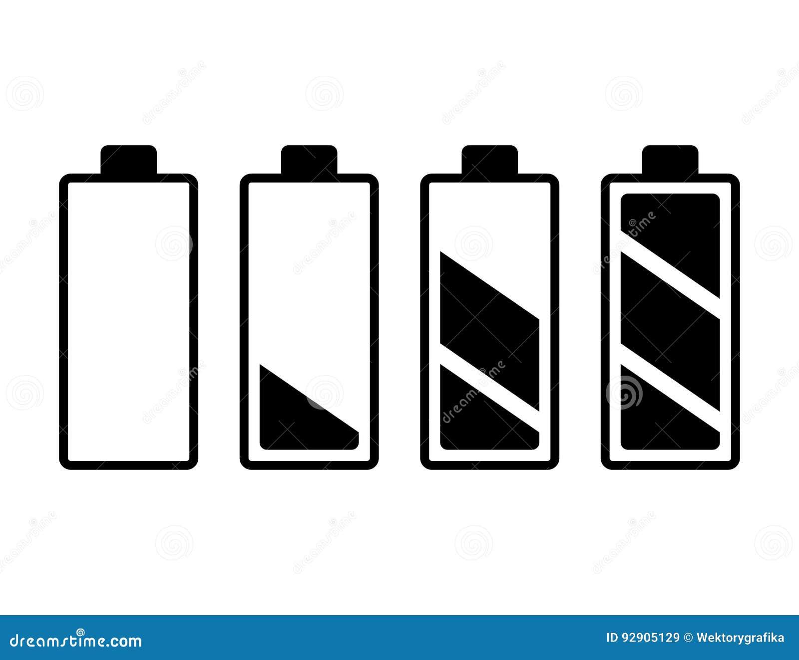 Charmant Elektronisches Symbol Für Batterie Fotos - Elektrische ...