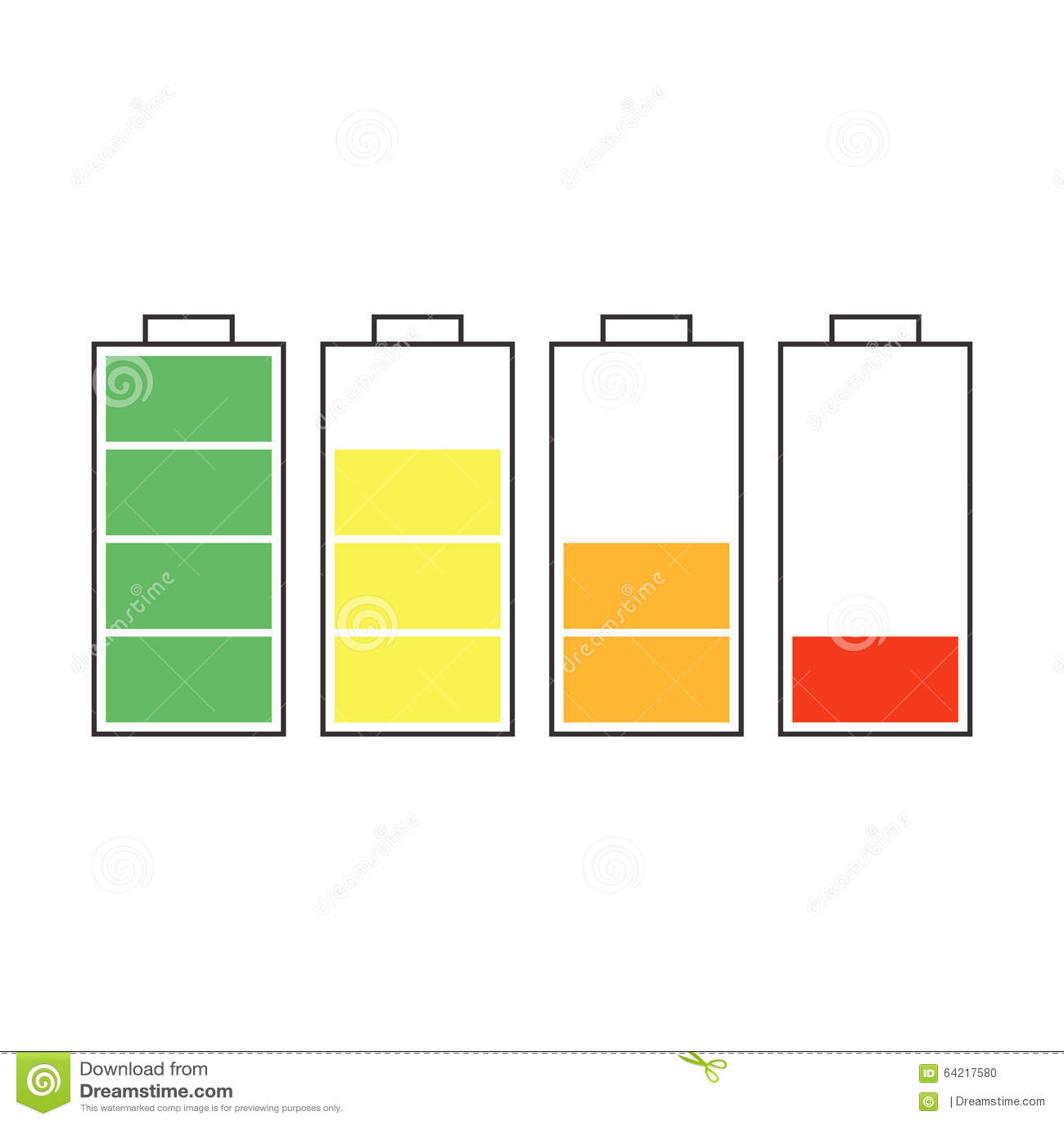 Windows 8 1 Set Battery Charge Level : Battery charger stock illustration image