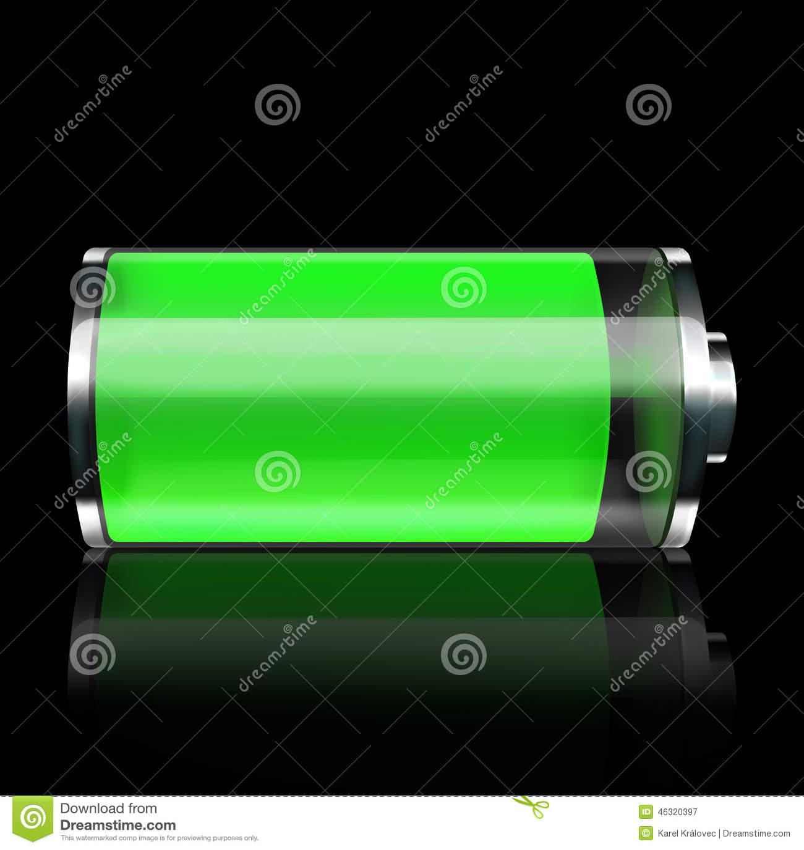 battery stock illustration