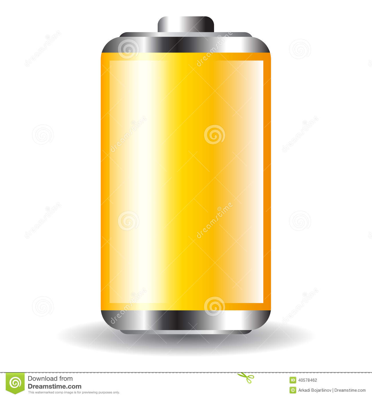 Battery Icon Stock Vector - Image: 40578462
