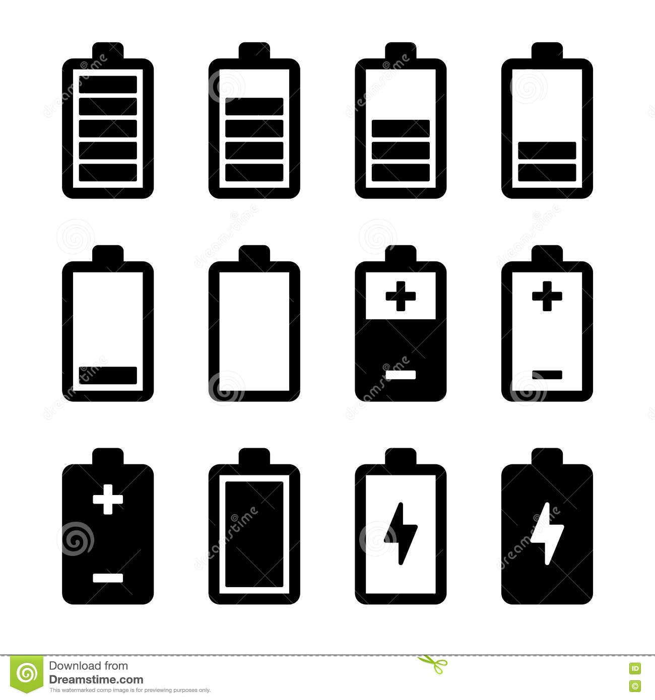 batteries icons - photo #44