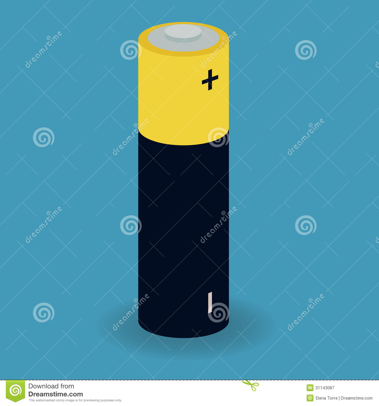 Battery Royalty Free Stock Photography - Image: 31143087