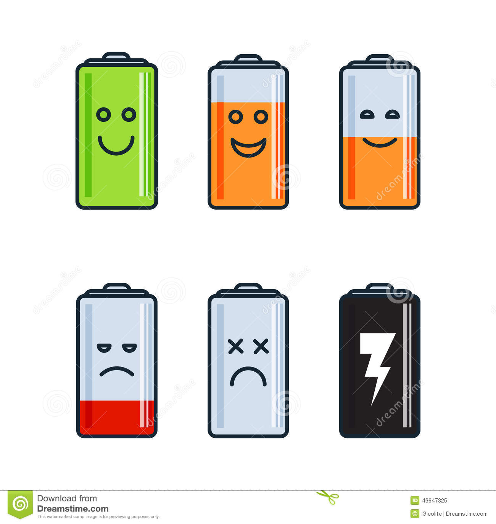 clipart battery