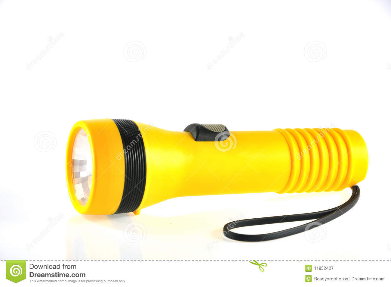 Battery torch light stock image. Image of night, portable ...