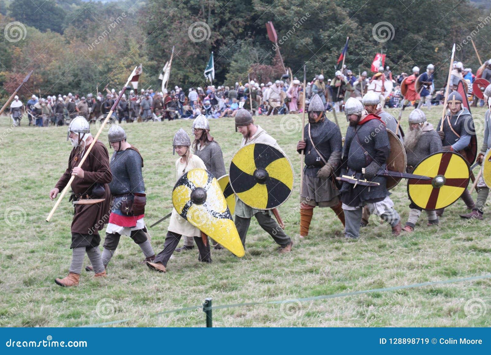 Battle Of Hastings Reenactment Editorial Stock Image - Image
