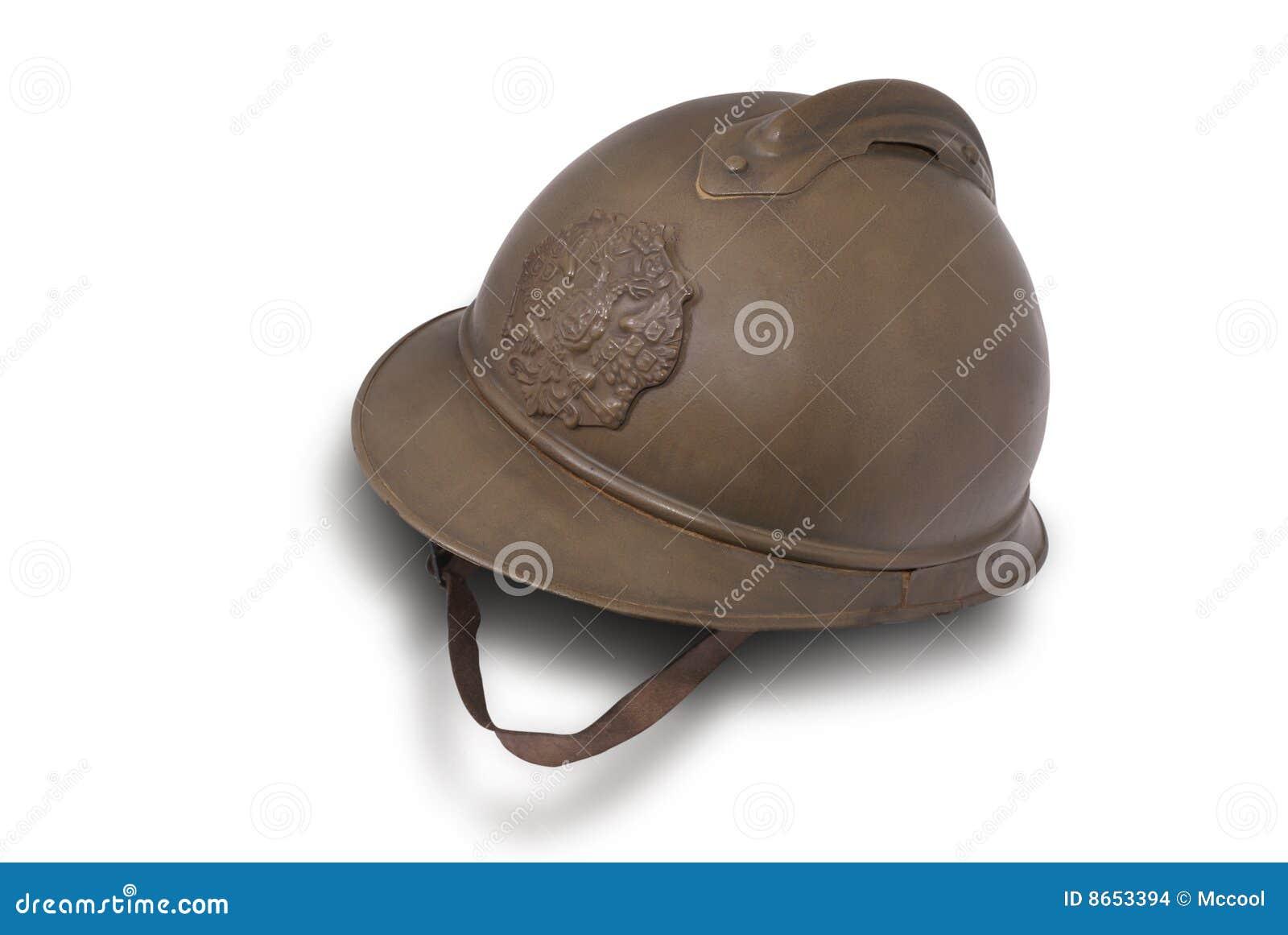 Battle helmet of Russian shock troops at WW1.
