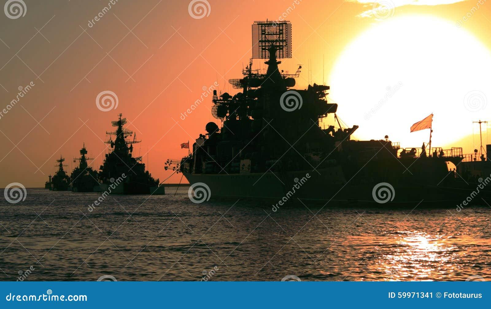 Battle sunset