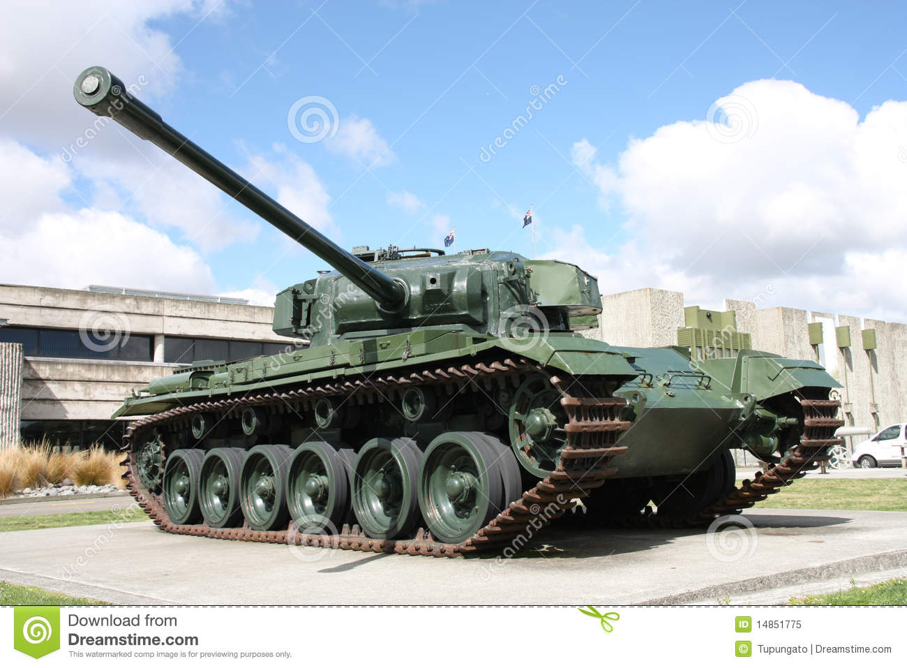 Battle tank - Centurion