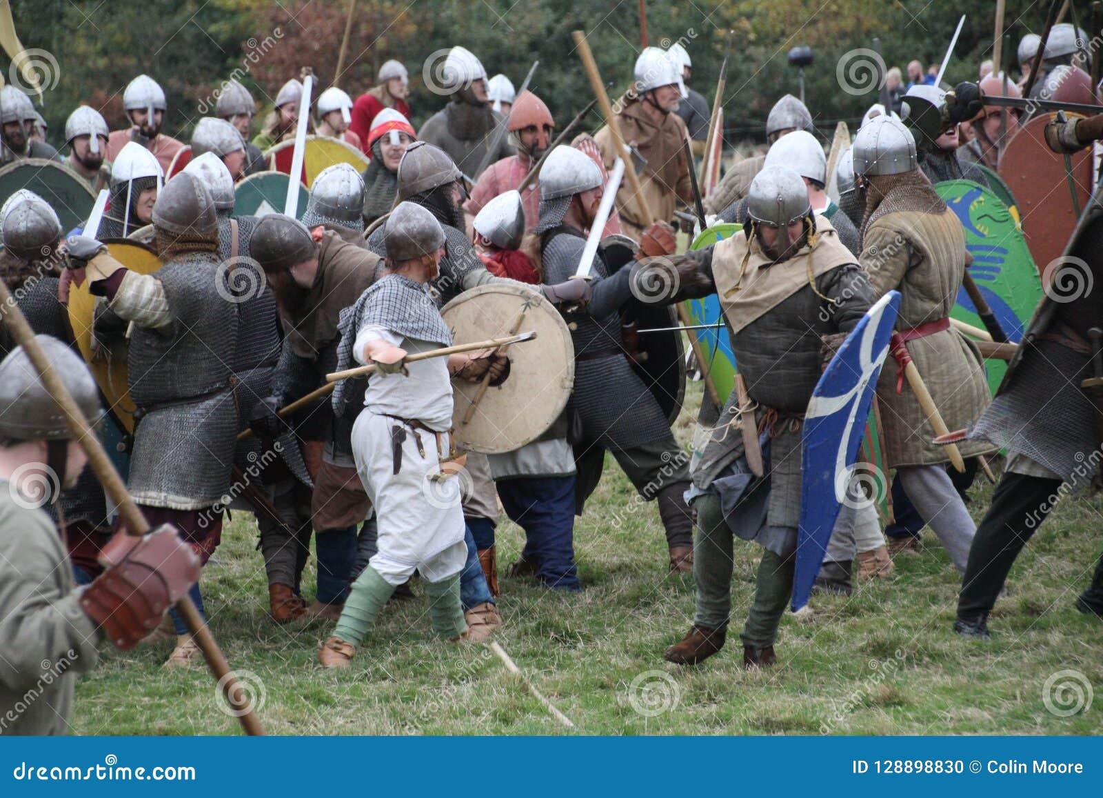 Battle Of Hastings Reenactment Editorial Image - Image of