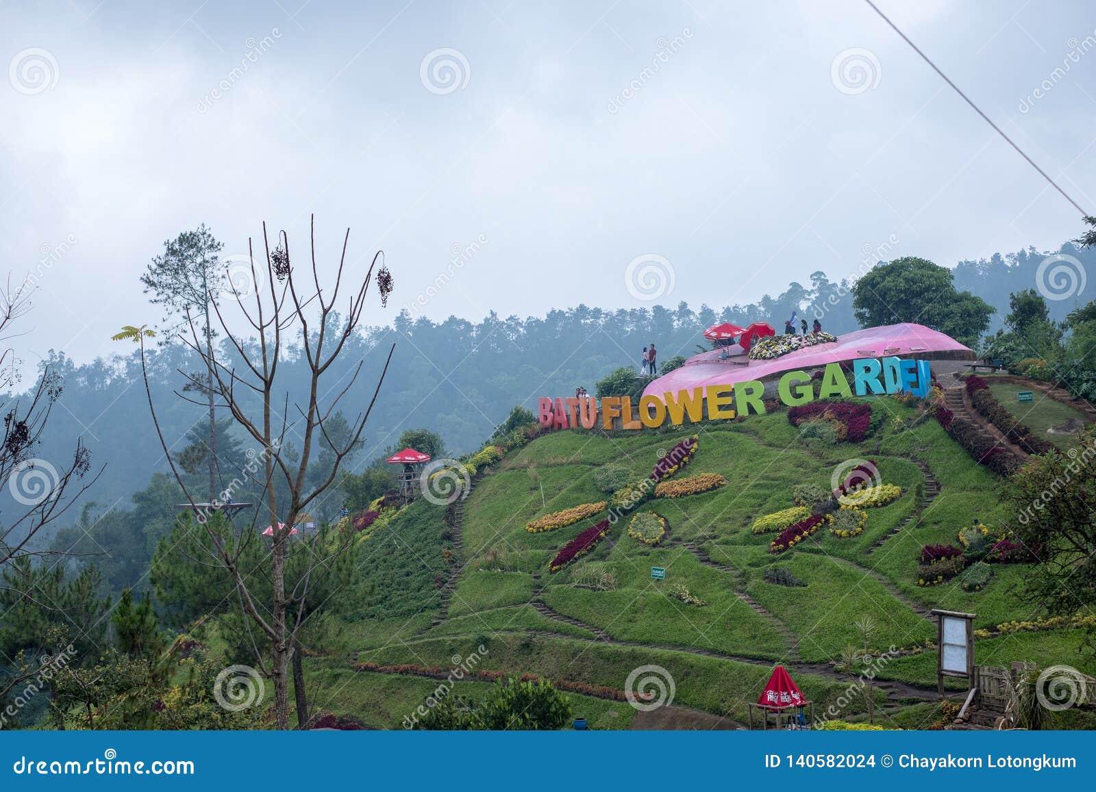 Selecta Flower Garden In Batu Malang Indonesia Editorial Stock Image Image Of Garden Coban 140582024