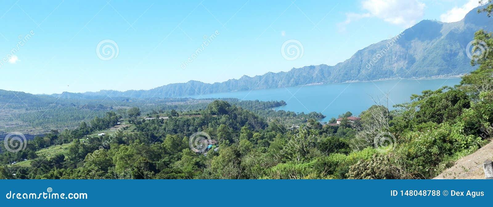 Batur Бали Индонезия озера