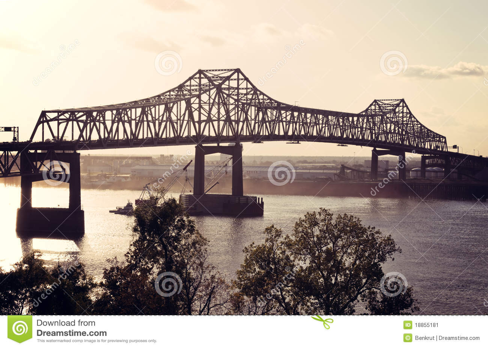 Batuty bridżowa rzeka mississippi szminka