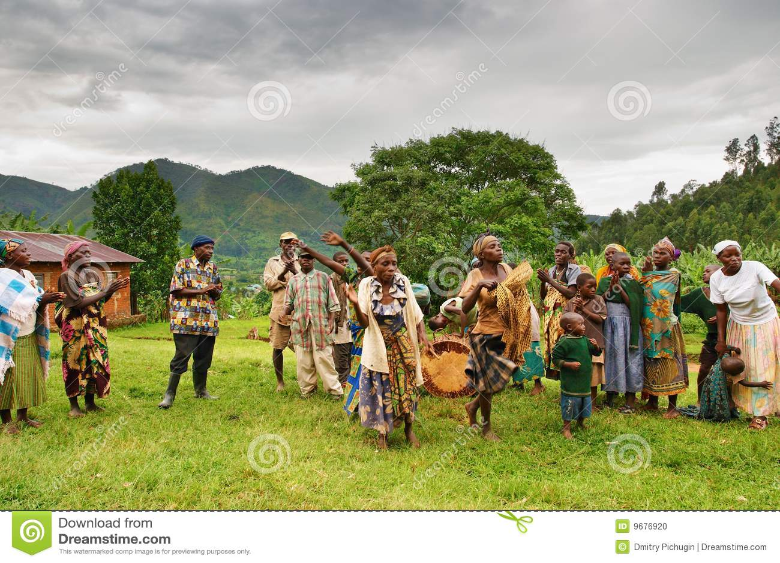 Batwa矮人乌干达