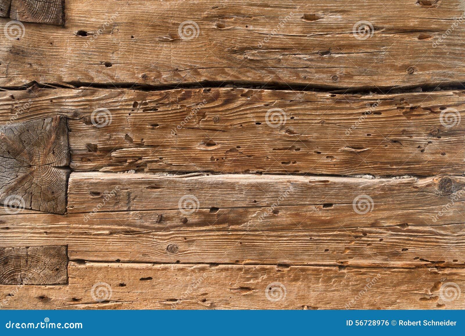 Bau von alten holzbalken stockfoto   bild: 56728976