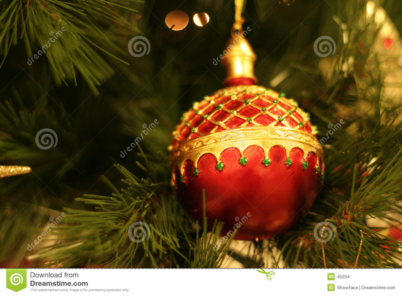 Bauble do Natal