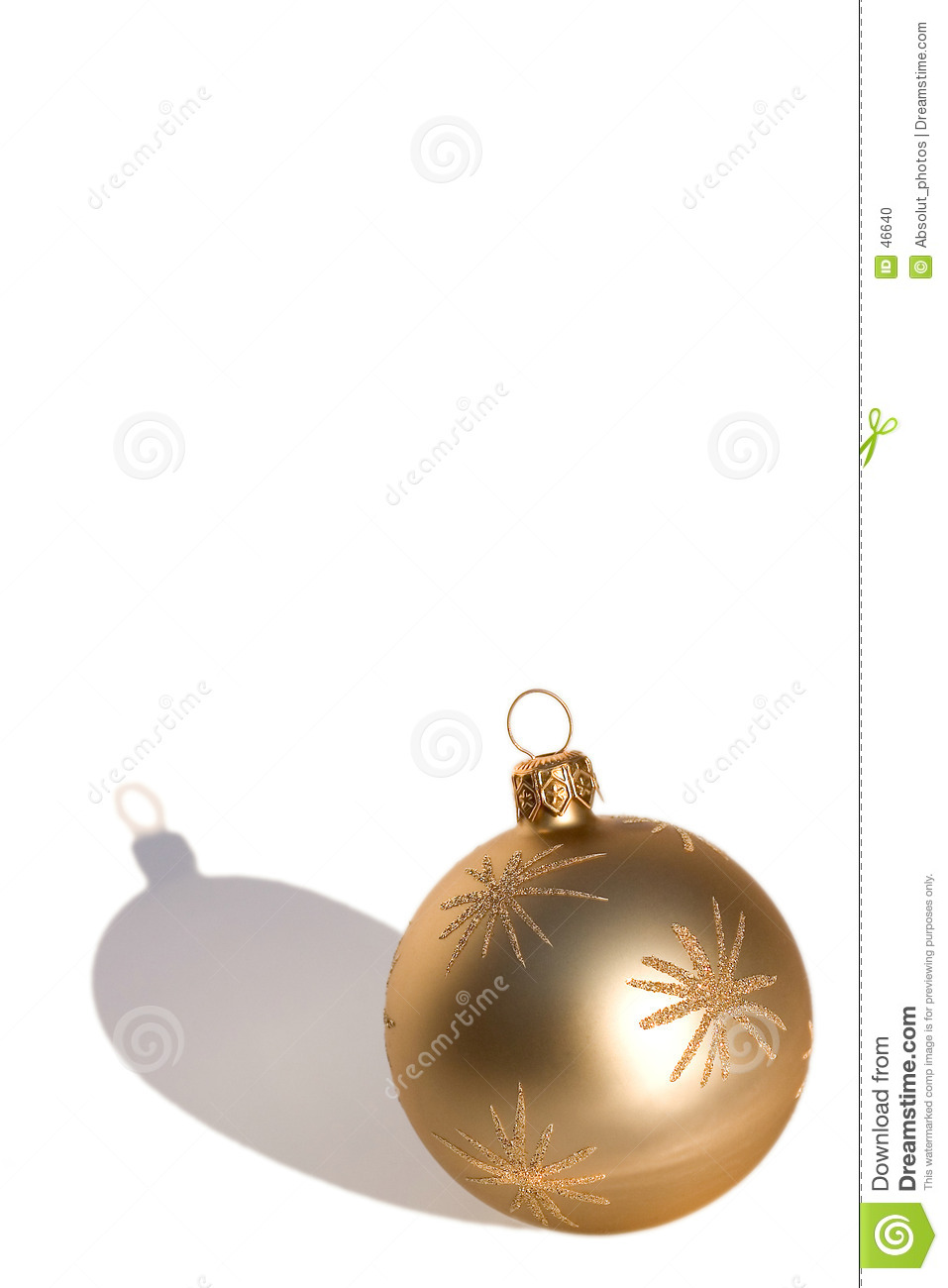 Bauble do ouro