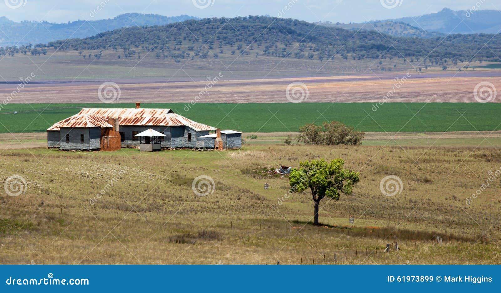 Bauernhaus im schönen Standort