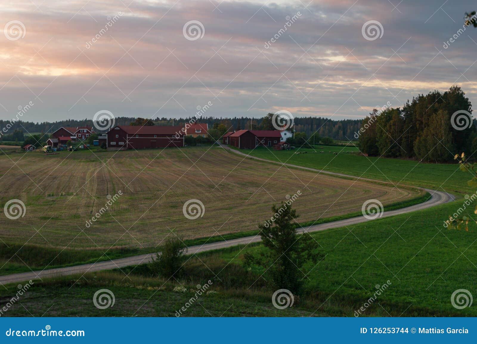 Bauernhof außerhalb Gnesta Schweden