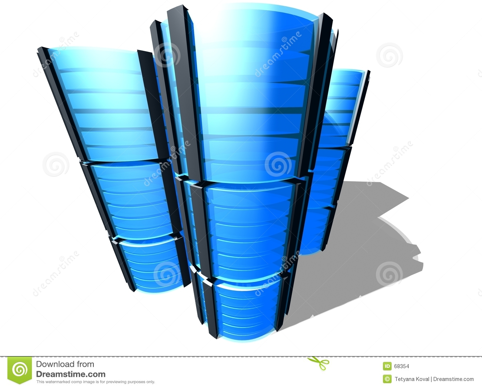 Bauernhof des Servers 3D