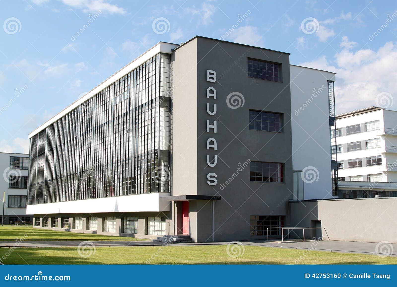 Bauhaus Dessau Redaktionell Foto Bild 42753160