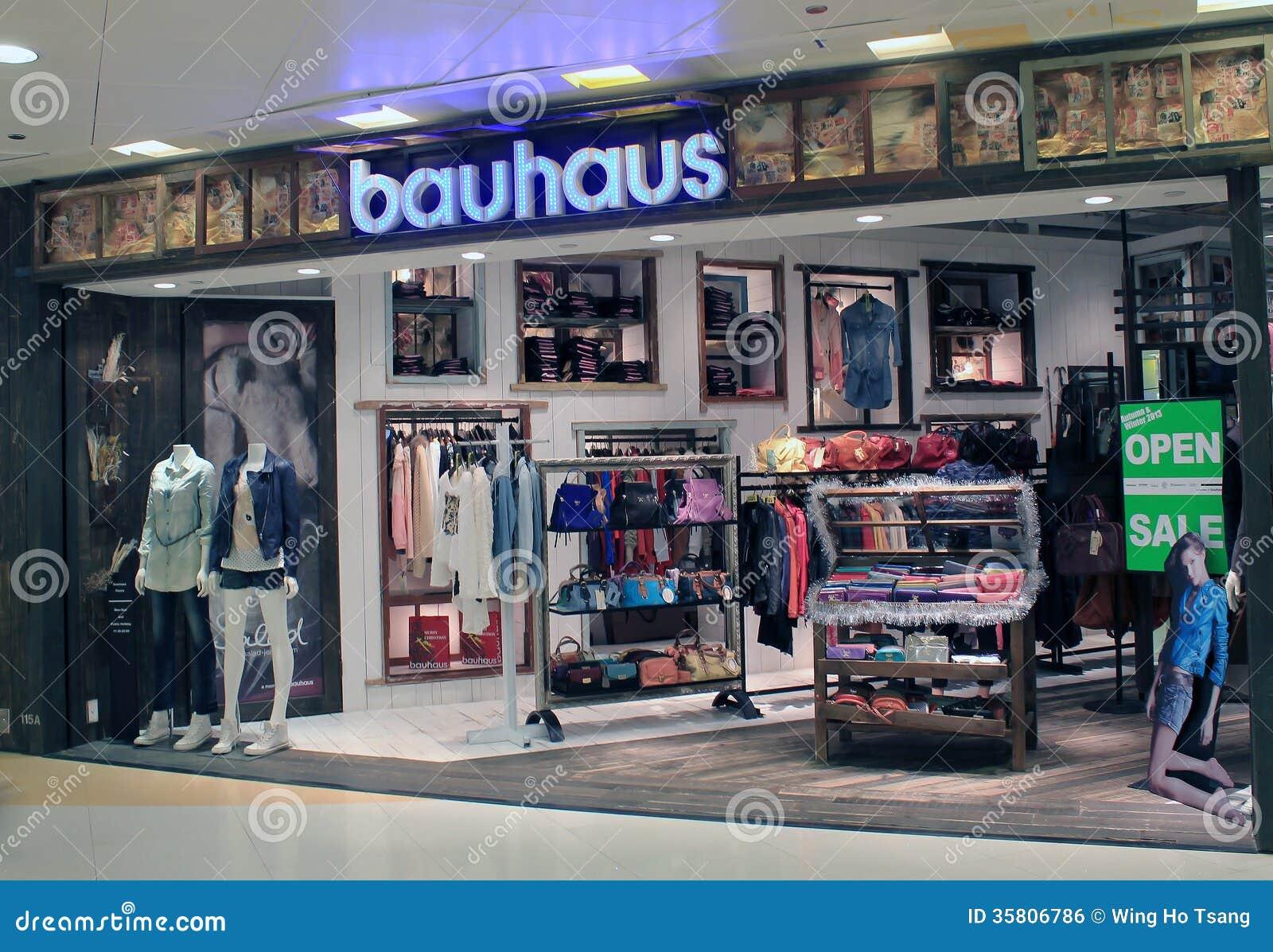 Bauhaus Shop In Hong Kong Editorial Photo Image Of Mall 35806786