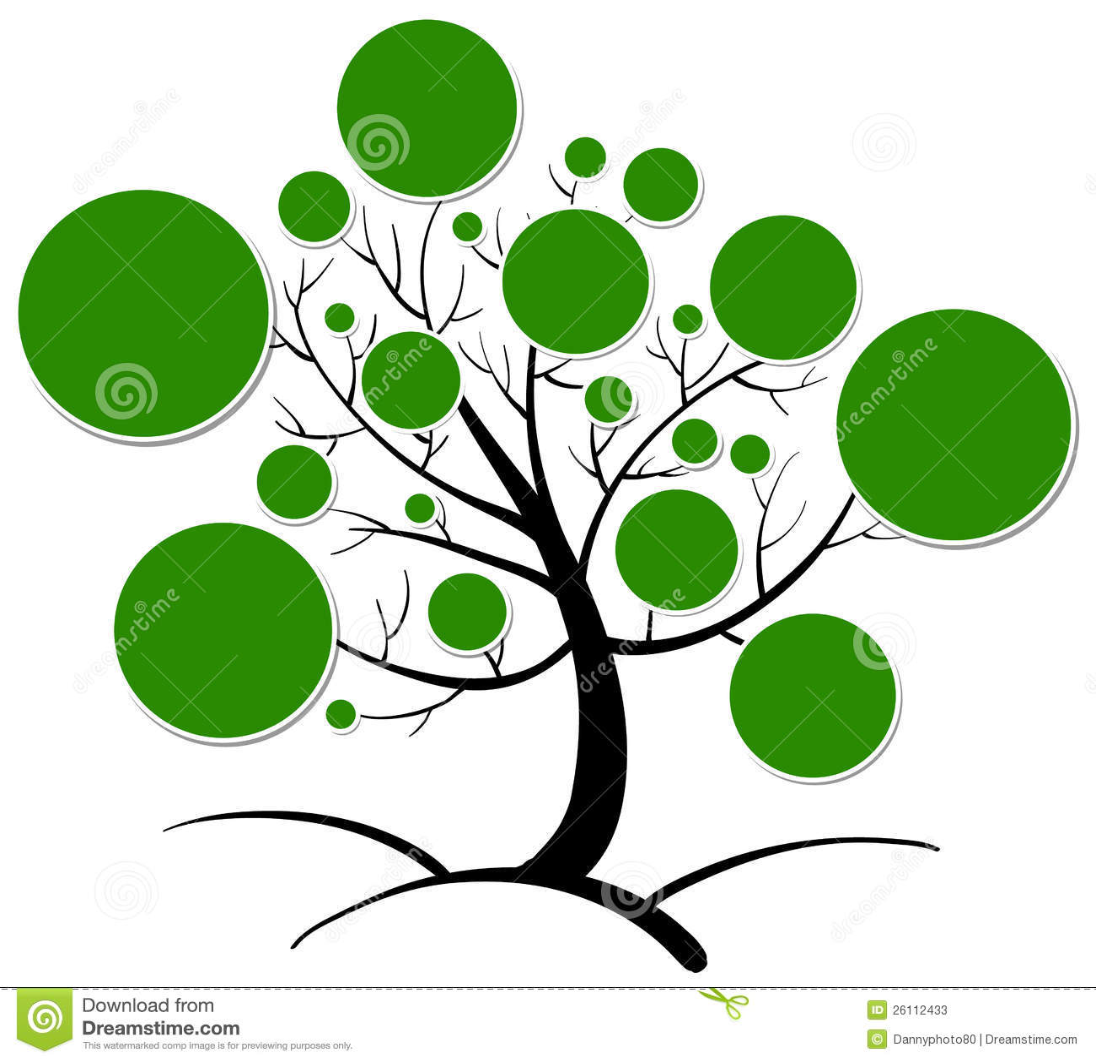 Baum Clipart Stockfotos  Bild 26112433
