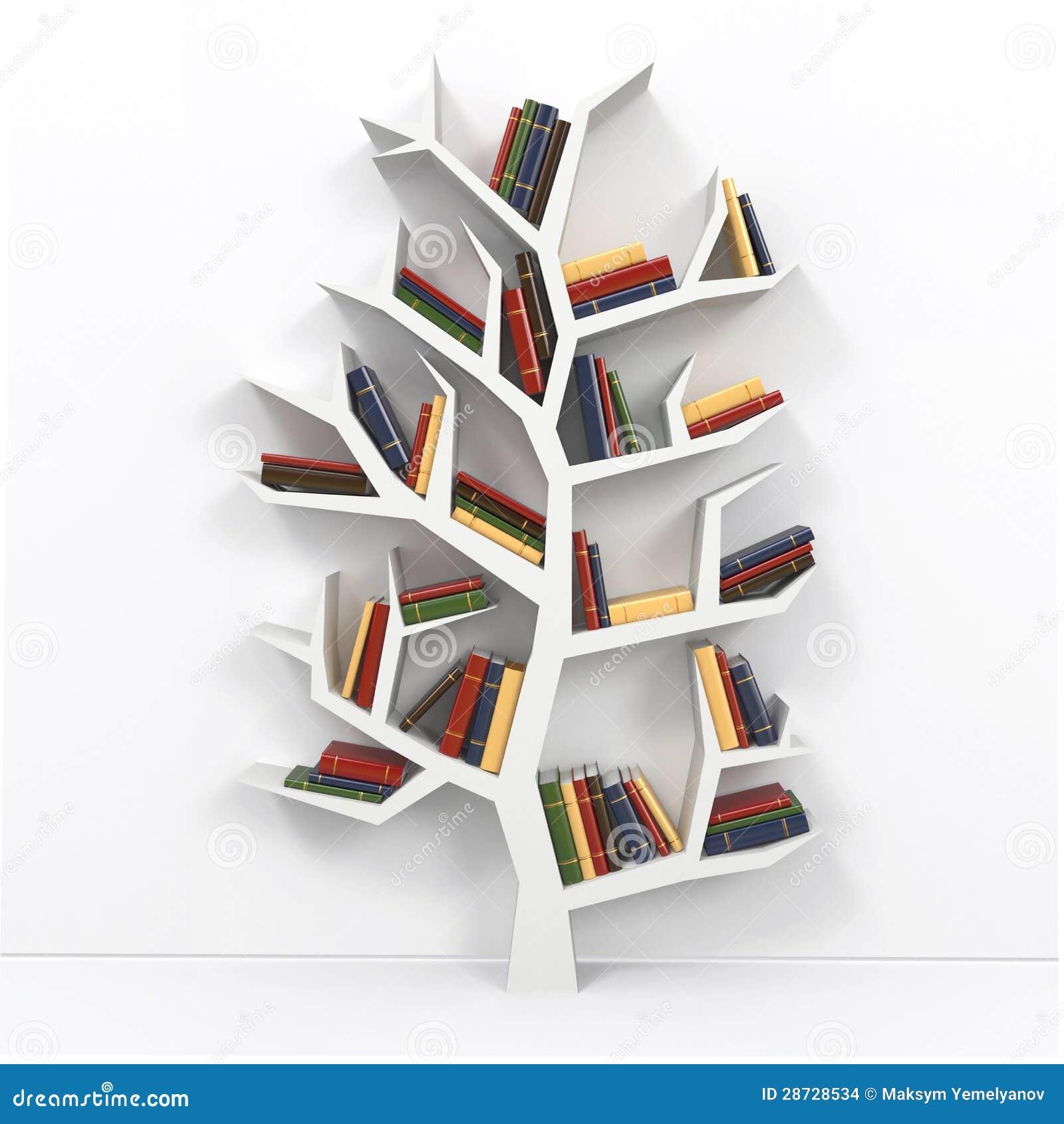 Baum Des Wissens Stockbilder  Bild 28728534 ~ Bücherregal Baum